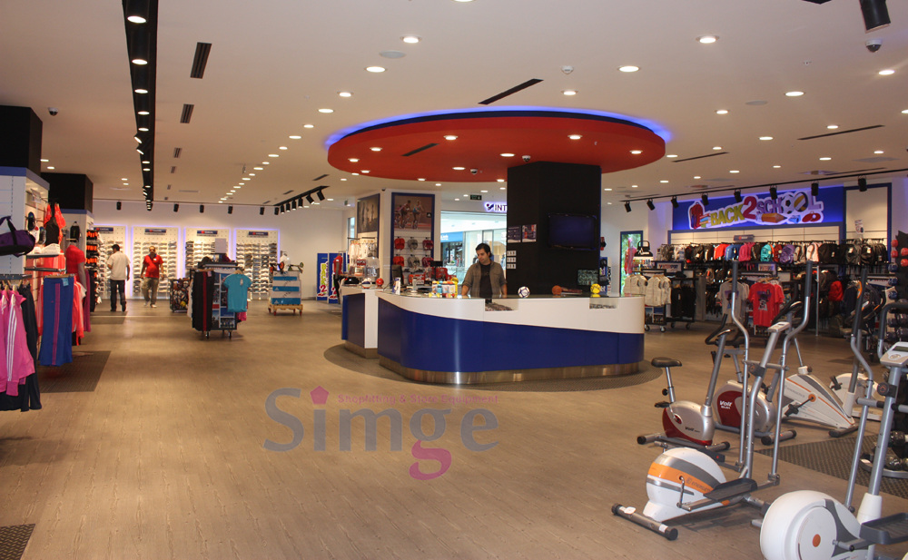 İnterSport Shop Consept, Shop Systems