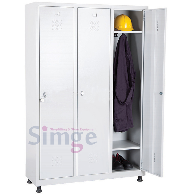 3 Door Steel Locker