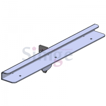 Metal Single Slotted Shelf Bracket