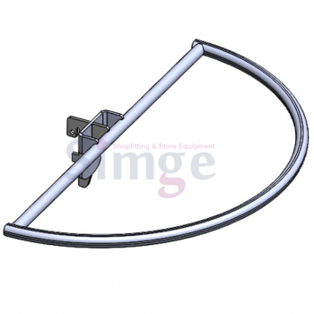 Lingerie D Type Wall Strip Hang Rail